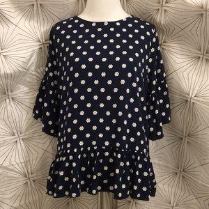 Abercrombie & Fitch Dark Blue Dress/Work Shirt
